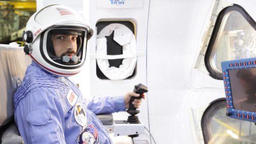 Dr Derek Muller visits NASA