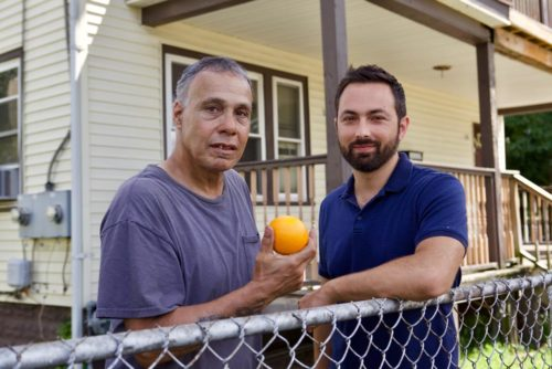 Scurvy sufferer Sonny Lopez and Dr. Derek Muller (C) Genepool Pr